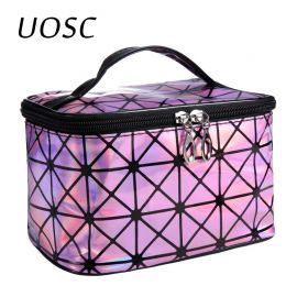 UOSC Multifunctional Leather Makeup Case