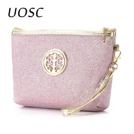 UOSC New Women Cosmetic Bag Travel Make Up Bags Fashion Ladies Makeup Pouch Neceser Toiletry Organizer Storage Wash pouch Case