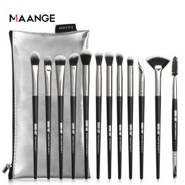 Makeup Brushes New 12pcs Eye Makeup Brushes Set With Cosmestic Bag Eyeshadow Blending  Make Up Brush For Makeup Beauty Tools Kit