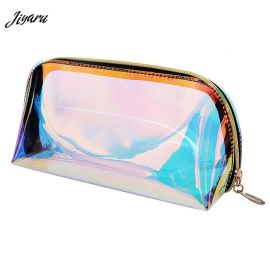 Jiyaru Flashing Transparent Makeup Pouch