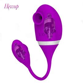 Hiwup Vibrator with Sucking Licking Function
