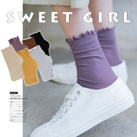 Spring/ Summer Sweet Japanese Long Socks - GEMBIRA.com.my