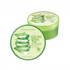 Nature Republic Soothing & Moisture Aloe Vera 92% Soothing Gel - www.gembira.com.my