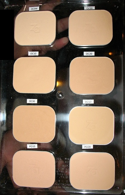 Za Perfect Fit Two-Way Foundation Refill (8 Colours) - www.gembira.com.my