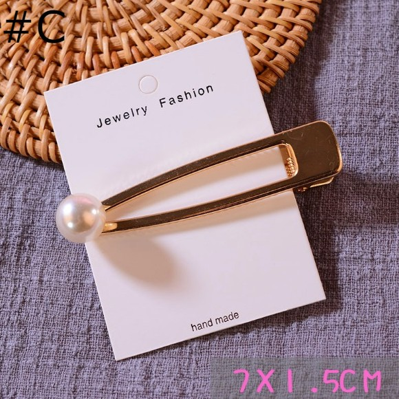 Korean Pearl Hair Clips - GEMBIRA.com.my