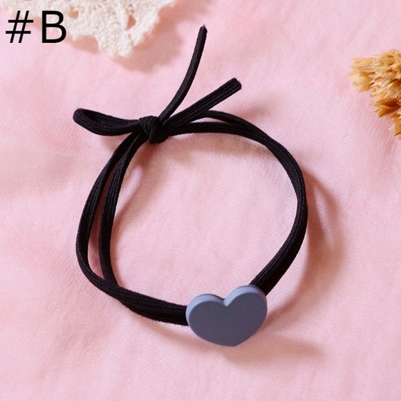 Heart Shape Colorful Hair Bands - GEMBIRA.com.my